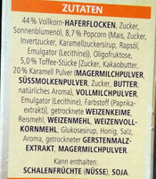 Knusper Pop Müsli - Ingrediënten - de