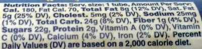 M&M's Minis - Nutrition facts - en