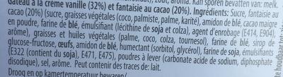 Mambo - Ingrédients - fr