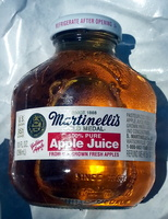 100% pure apple juice from US grown fresh apples - Product