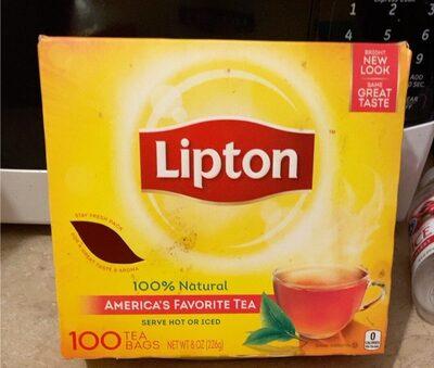 Lipton tea bags - Product - en