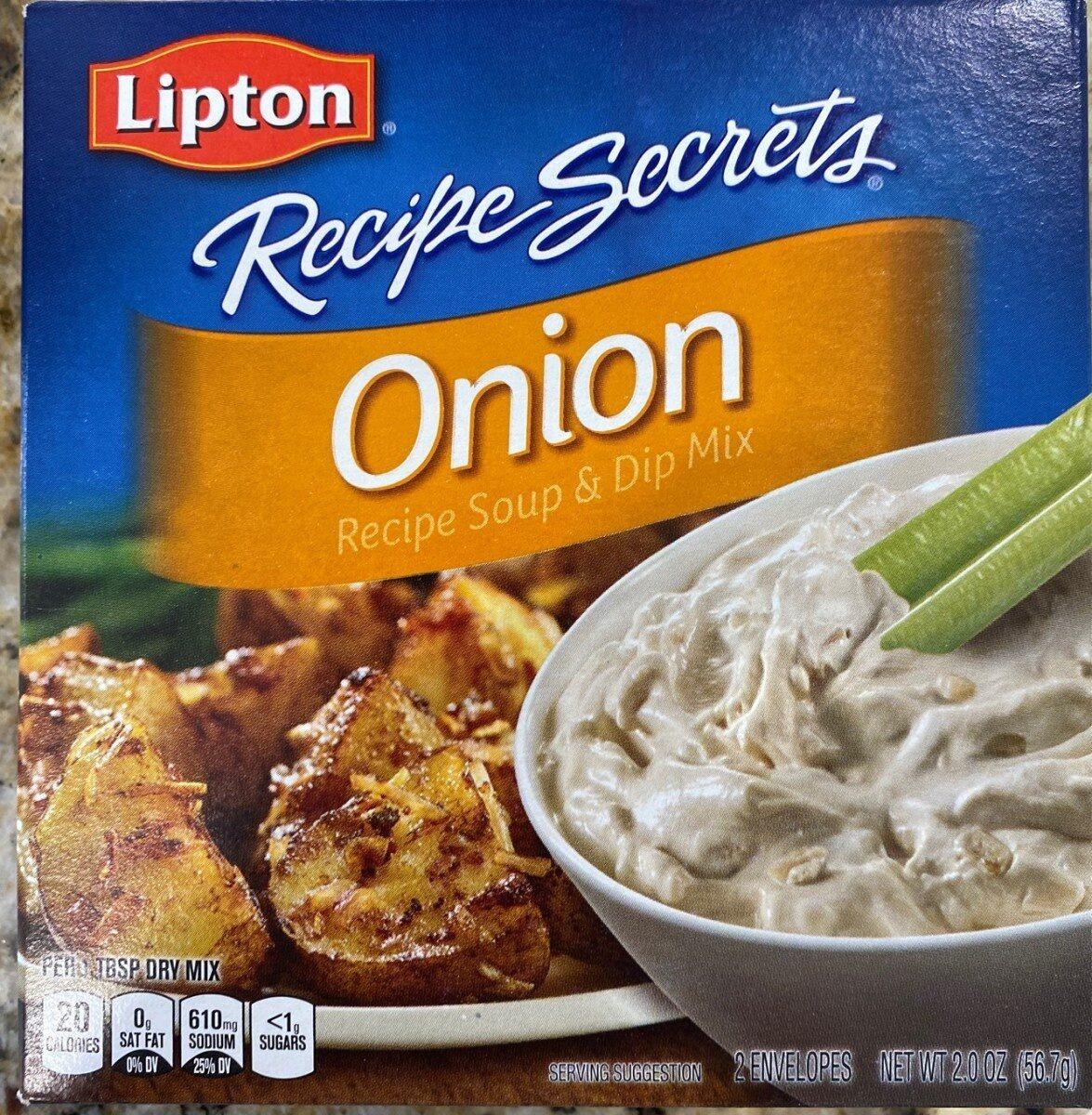 Onion recipe soup & dip mix - Product - en