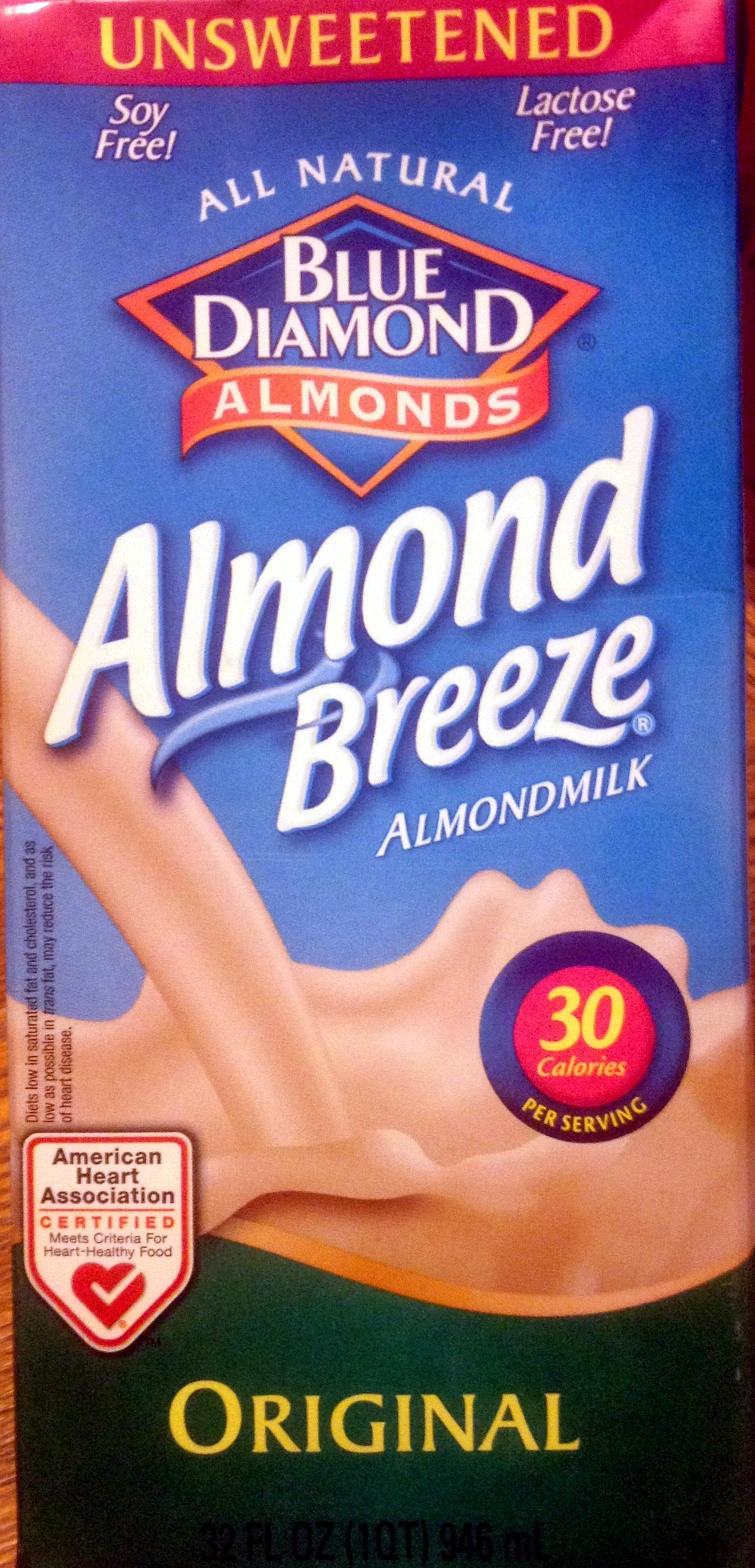 Almond Milk Unsweetened - Product - en