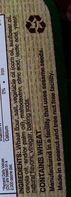 UTZ sourdough specials original pretzels - Ingredients - en