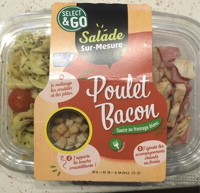 Salade sur-mesure poulet bacon - Produit