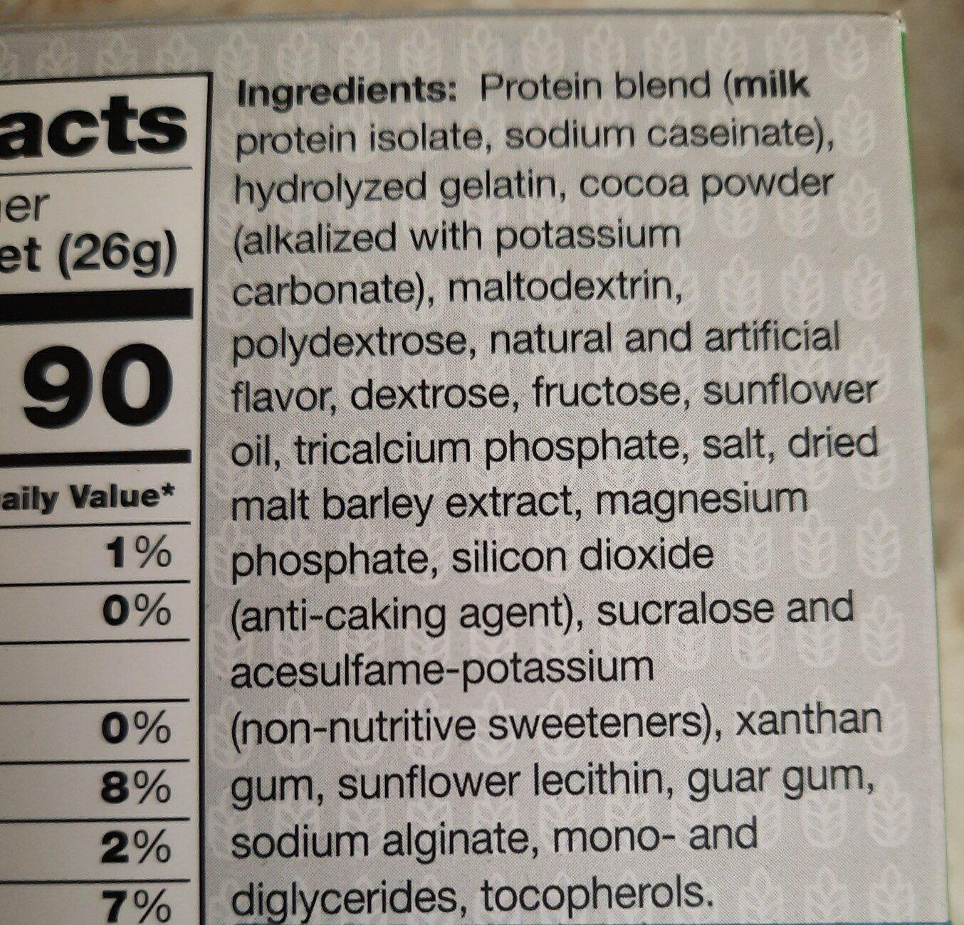 MRC HOT COCOA - Ingredients - en