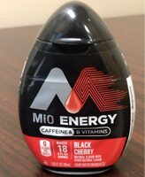 Mio Energy Black Cherry - Product - en