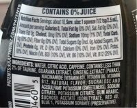 Mio Energy Black Cherry - Nutrition facts - en