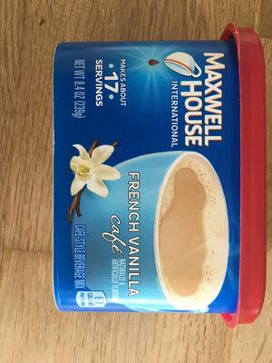 French Vanilla Cafe Beverage Mix - Prodotto - fr