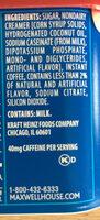 French Vanilla Cafe Beverage Mix - Ingredienti - fr
