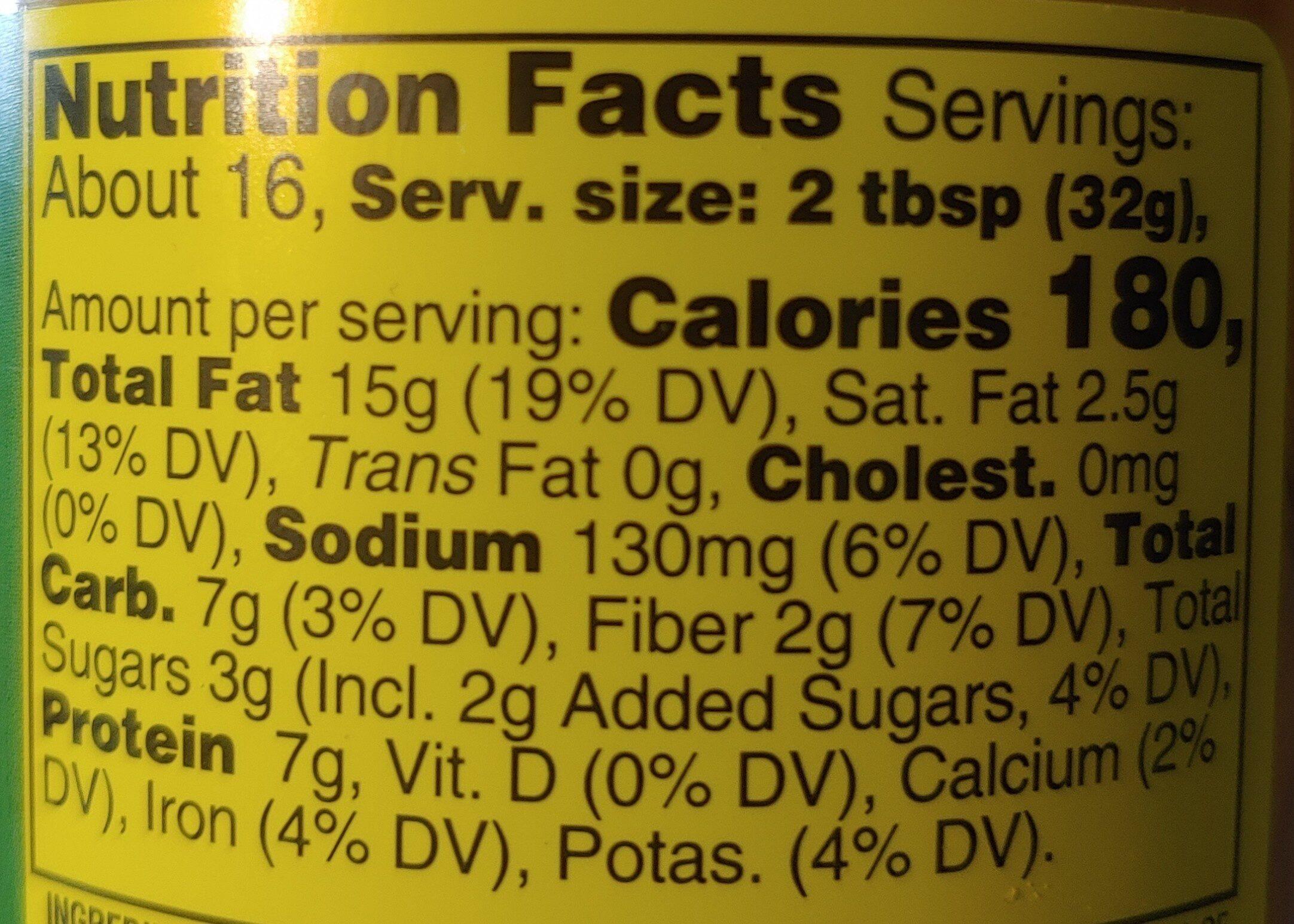 Hampton Farms Creamy Peanut Butter - Product - en