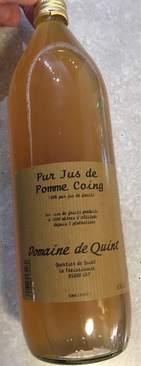 Pur jus de pomme coing - Prodotto - fr