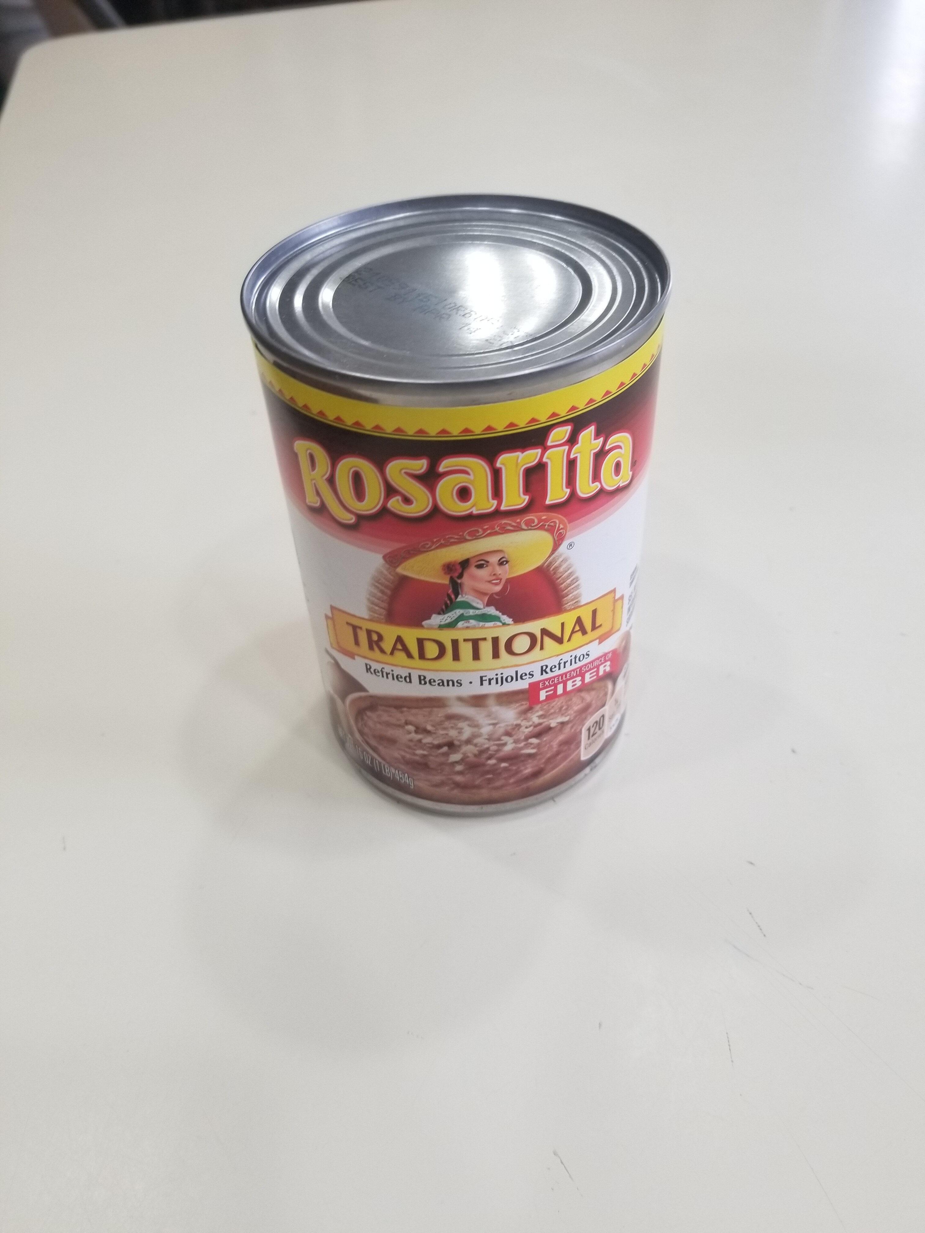 Rosarita Traditional Refried Beans - Product - en