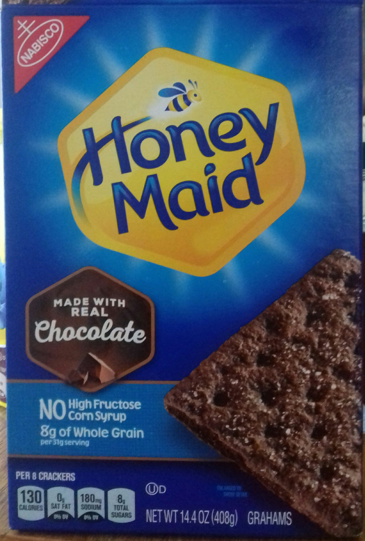 Chocolate crackers grahams - Product - en