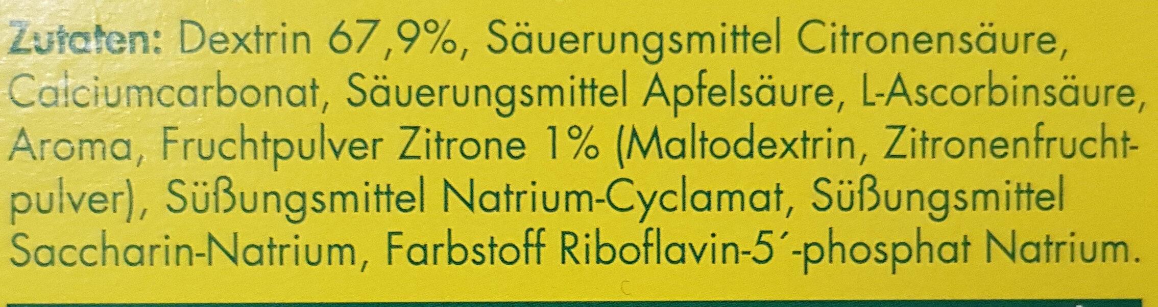 Heisse Zitrone - Ingredients - de