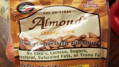 Almonds Cheddar Style - Product - en