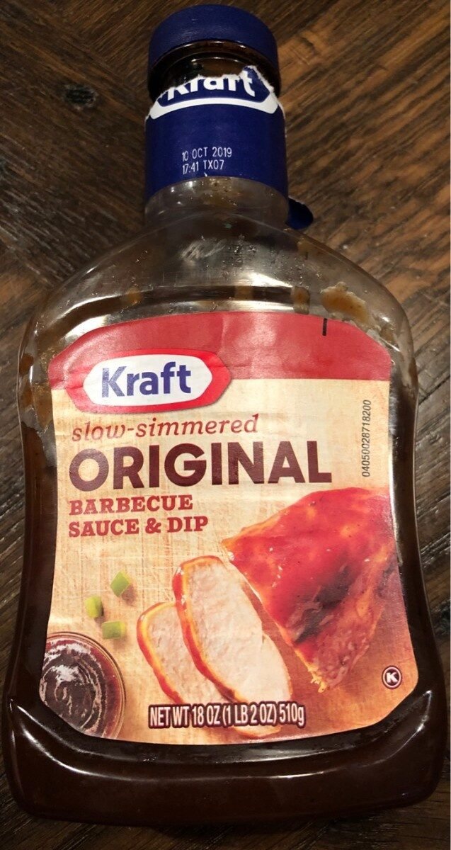 Original barbecue sauce & dip - Product