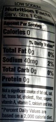 Diet Coke - Nutrition facts - en