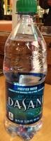Dasani purified water - Product