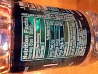 Dasani purified water - Ingredients