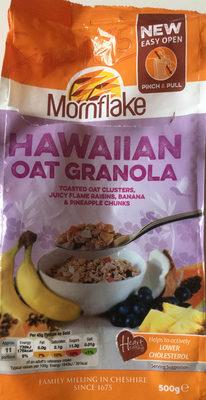 Hawaiian oat granola - Product