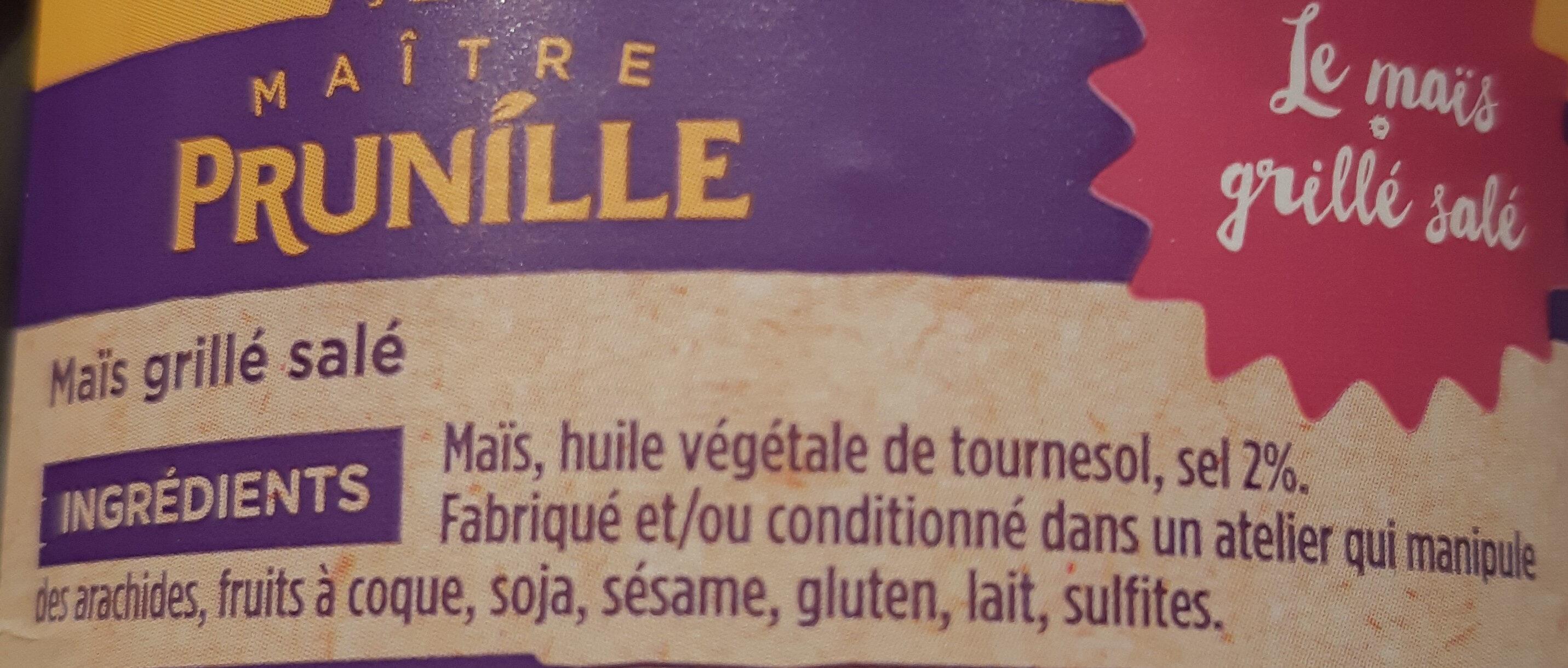 maïs grillé - Ingrédients - fr