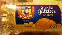 Grandes galettes pur beurre - Product