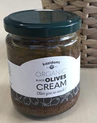 Crème D'Olives Noires Bio Kazidomi - Prodotto - fr