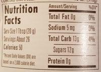 Concord Grape Jelly - Nutrition facts - en