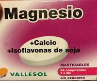 Magnesio + Calcio + Isoflavonas de Soja - Product
