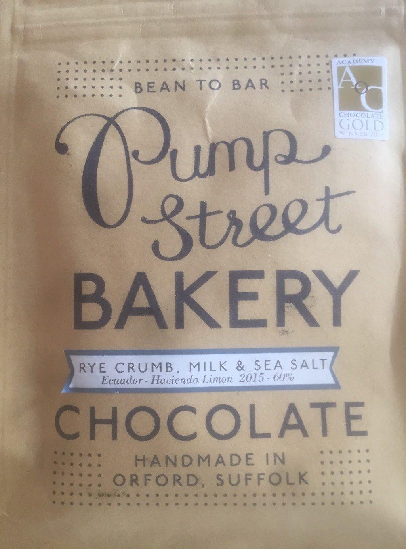 Chocolate Rye Crumb Milk & Sea Salt - Product