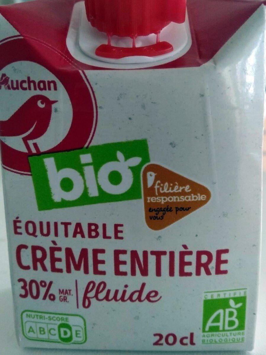 Crème entière fluide Equitable - Product - fr