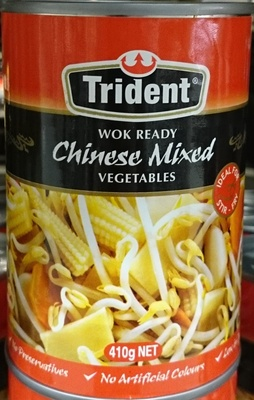 Trident Wok Ready Mixed Vegetables - Product