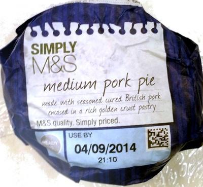 Medium Pork Pie - Product