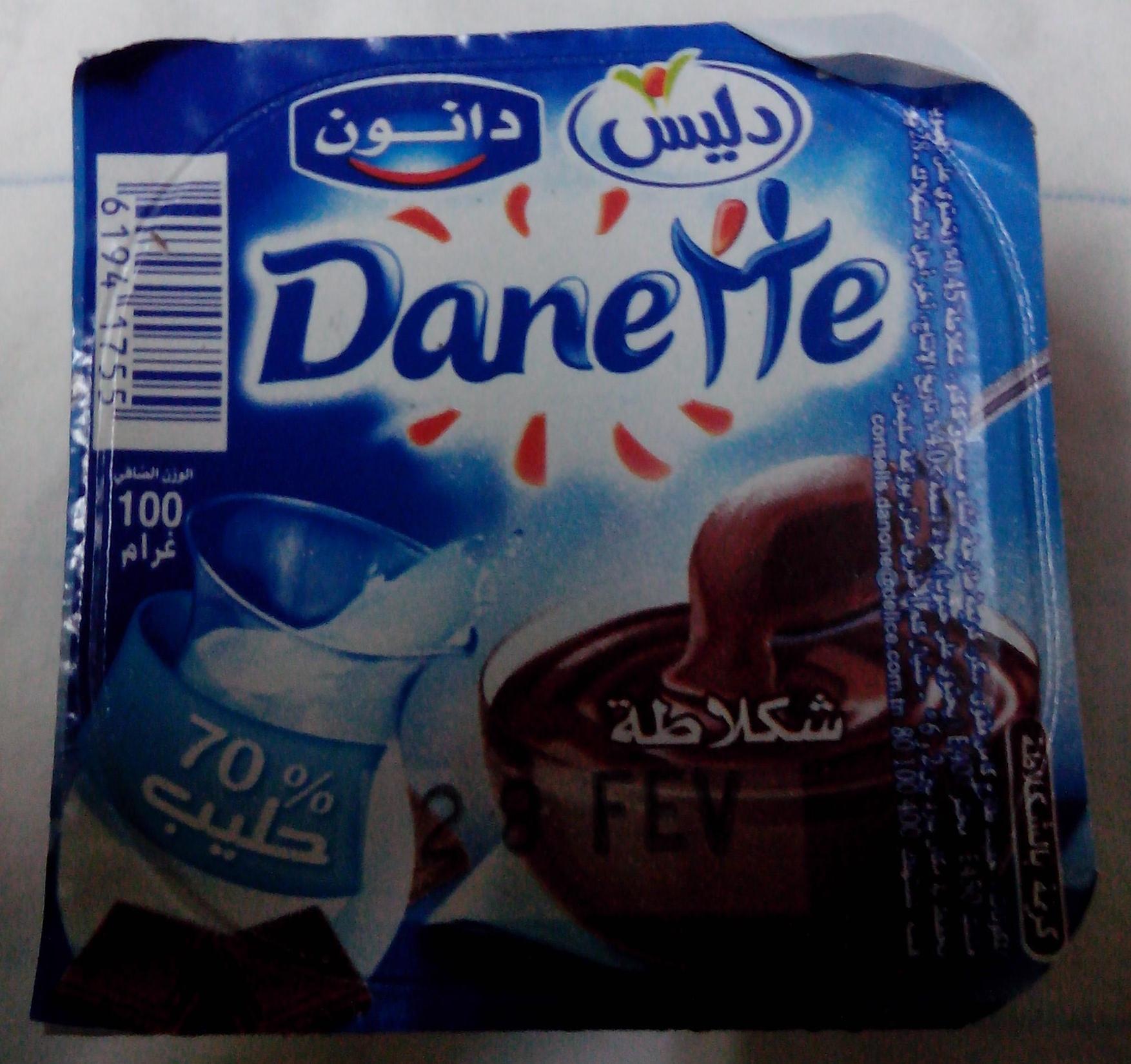 Danette Chocolat - Délice - 100 g - Product