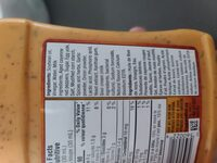 Redhot sauce buffalo and ranch - Ingredients - en