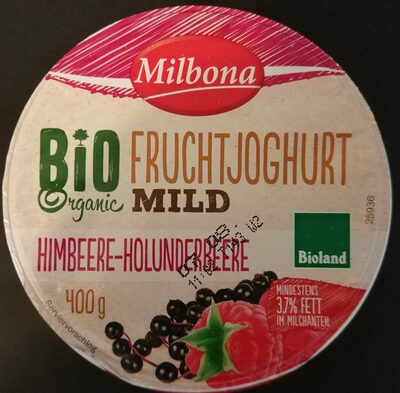 Bio-Fruchtjoghurt mild Himbeere-Holunderbeere - Product