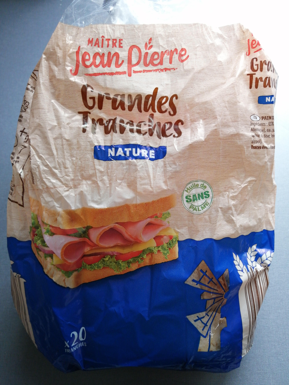 Grandes tranches - Produit - fr
