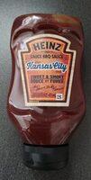 Sauce BBQ Kansas City - Product - fr