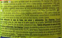 Jus de Citron - Ingredients - fr