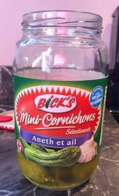 Mini cornichons aneth et ail - Produit - en