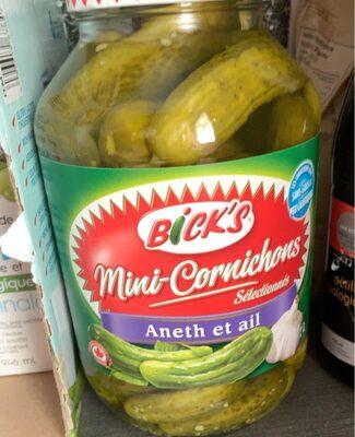 Mini cornichons - Produit - fr