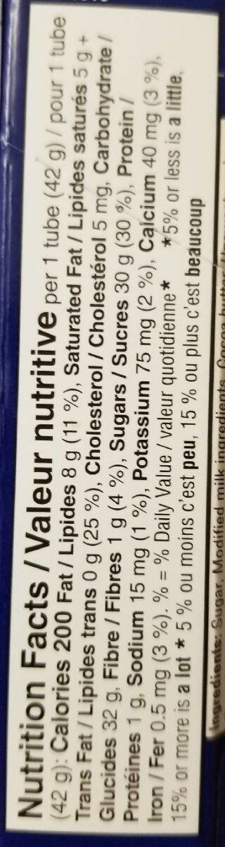 Smarties Lil' Eggs - Nutrition facts - fr