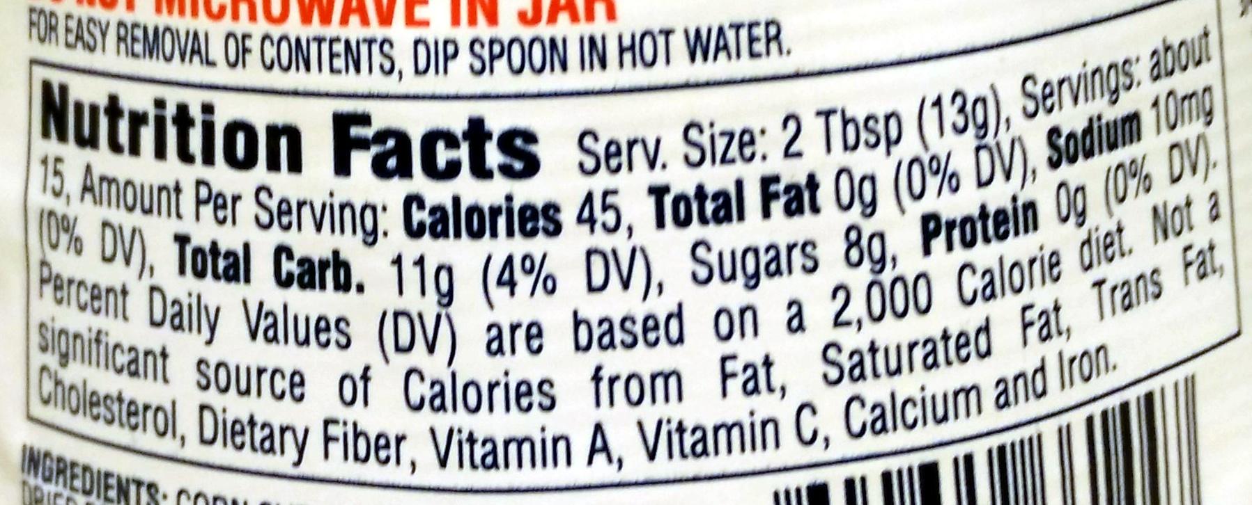 Jet-Puffed - Nutrition facts - en