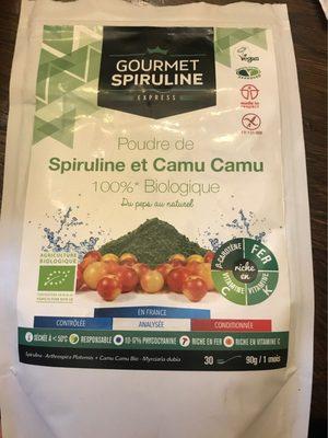 Spiruline et Camu Camu - Product - fr