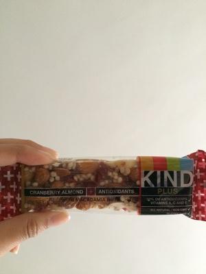 Kind Plus Cranberry Almond - Product