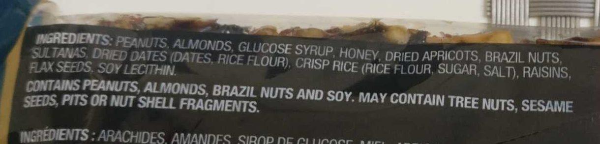 FRUIT & NOIX - Ingredients