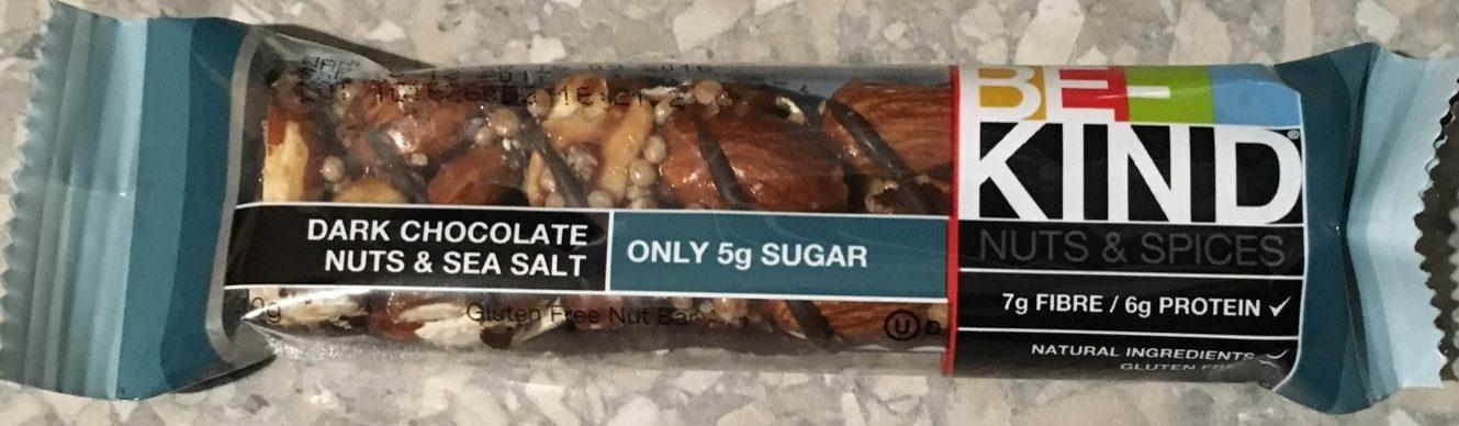 Dark Chocolat, Nuts & Sea Salt Bar - Produit