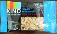Healthy Grains Granola Bar, Vanilla, Blueberry - Product