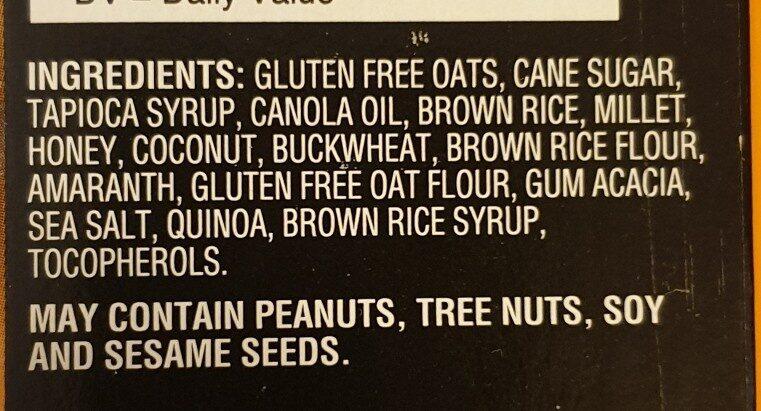 Kind healty grains - Ingrédients - en